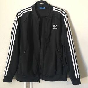 Adidas Bomber Zip Up Sweater